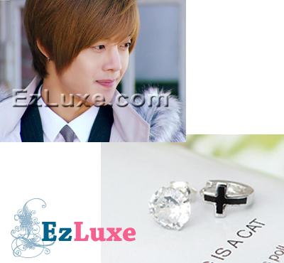Korean TV boys over flowers F4 Asymmetric Earrings